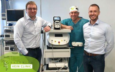Eesti Veenikliinik on täiendanud oma seadmete sortimenti uue aparaadiga